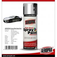 China Aeropak fast dry high glossy Chrome Effect Spray Paint, bright chrome color, vivid in gloss, long lasting on sale