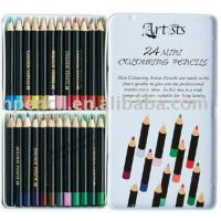 China 7 inches High quality office&school non-toxic drawing natural wooden color pencil sets wholesale