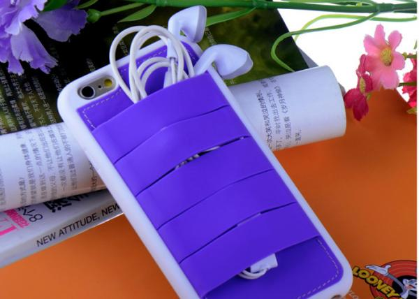 silicon holder iphone 6 back cases, tpu silicon case for iphone