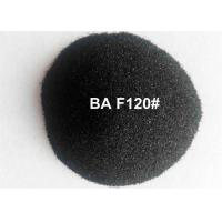 China Black Fused Alumina Aluminium Oxide Blasting Media For Polishing Stainless Steel Tablewares wholesale