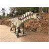 China Large Jurassic Dinosaur Large Resin Animal Statues, Amargasaurus Dinosaur Garden Art wholesale