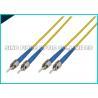 China LC - la correction optique recto de fibre de LC câble le matériel de veste du mode unitaire 1.6mm LSZH wholesale