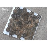 China Seamless Dark Emperador Marble Mosaic Wall Tile For Decoration 42 Pcs Sheet wholesale