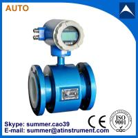 China magnetic flowmeter Used for soft water with low cost on sale