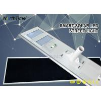 China Outdoor Solar Panel Street Lights 100W 11000LM Solar Pole Lights With 5 Year Warranty wholesale