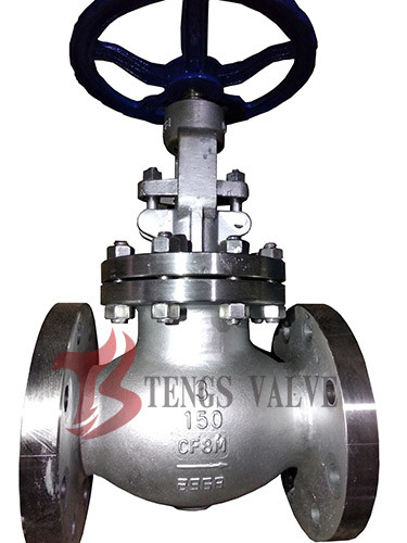Quality Stainless Steel Industrial Globe Valve Flanged A351 CF8M Metal Seal 150LB J40W for sale