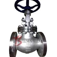 China Stainless Steel Industrial Globe Valve Flanged A351 CF8M Metal Seal 150LB J40W wholesale
