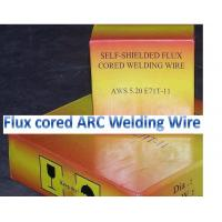 China self-shieding arc flux cored wire E81T-GS for mild steel and low alloy steel welding wholesale