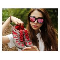 China Easy Dry Yellow Ladies Surf Shoes , Womens Wading Shoes With Drain Holes wholesale