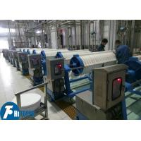 China Toper High Pressure Hydraulic Round Plate chamber Filter Press For sludge dewatering filtration on sale