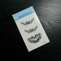 China Temporary fake tattoo sticker, body skin transfer sticker on sale