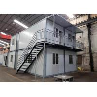 China Environmental Friendly Prefabricated Shipping Container House For Labor Camp / Office / Workers Accommodation wholesale