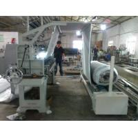 China Simple Type Cloth Fabric Roller Machine , Programmable Fabric Inspection Machine wholesale