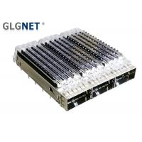China Drawing 3 Port Sfp Module Cage Pinout With Heat Sink REACH And UL Certification wholesale