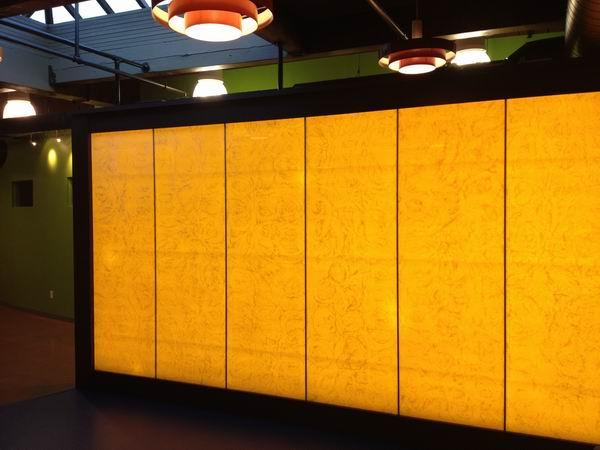 Translucent Resin Panel Maryland : Acrylic pebbles images