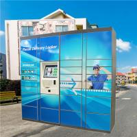 China Cold Rolled Steel Mail Locker , Post Box Lockers For Outdoor Logistic on sale