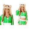 China Disfraces de Halloween femeninos del hámster verde de la bujía métrica, nuevo traje de Fancycosplay Halloween de los estilos wholesale