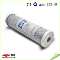 China 10'' CTO Activated Carbon Filter Cartridge 45 Degree Water Temperature on sale