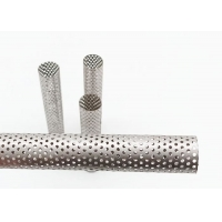 China Corrosion Resistant 2mm Hole H147mm PerforatedMetalPipe For Water Filter wholesale