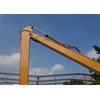 Quality Q345B + Q690D Excavator Long Boom For Caterpillar E200B with 20 Meters Length for sale