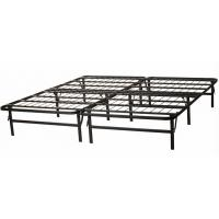 China Adjustable Wire Mesh Metal Frame Bed Queen Size Long Lasting Folding Metal Bed wholesale