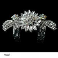 China Authentic Crystal Bridal Hair Clip Jewelry wholesale