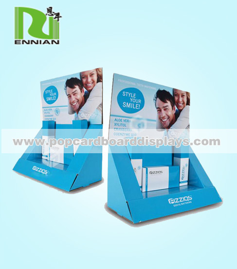 Quality Fashionable POP Cardboard Displays , Cosmetic point of purchase counter displays for sale