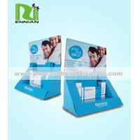 Fashionable POP Cardboard Displays , Cosmetic point of purchase counter displays