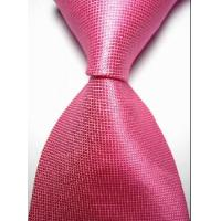 China New Hot Pink Solid Checked JACQUARD WOVEN Men