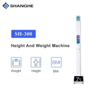China 200 Kilo Ultrasonic BMI Weight Scale Medical Human Health Scale Height Weight wholesale