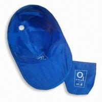 China Sun Visor/Promotional Hat with Thin Nylon Fabric and Galvanized Steel Wire Rim wholesale