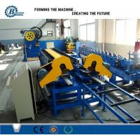 China Steel Sheet Roller Shutter Door Roll Forming Machine With PLC Control System wholesale