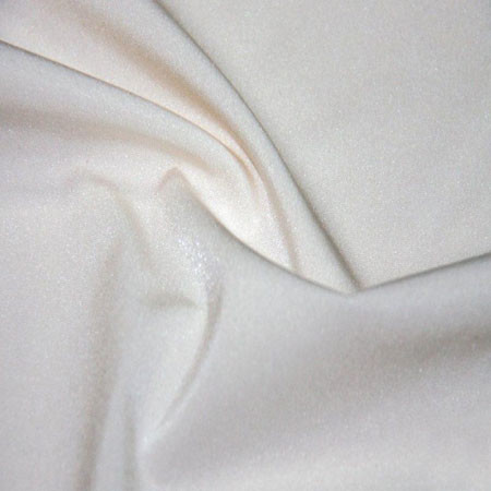 White organic linen fabric mix cotton textile for bed and children s