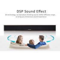 China 33.5 Inch 2.0 Channel Analog Input Sound Bar Built in Bass System / DPS Mode wholesale