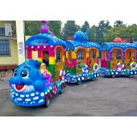 China Amusement Park Tourist Train Rides Electric Ride On Train For Kids CE Approved wholesale