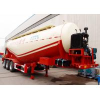 China CIMC frac bulk cement pneumatic sand tank hauling trailer top loading in bulk manufacturer for sale wholesale