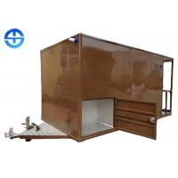 China Outdoor Mobile Food Cart Trailer / Fast Food Truck For Vending Coffee wholesale