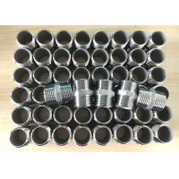 """China 1"""" inch 304, 316 material stainless steel bsp, bspt, npt threaded casting hexagon nipple wholesale"""