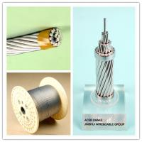 China Corrosion Resistance Galvanized Steel Wire Rope Cable , Electrical Weatherhead Steel Guy Wire wholesale