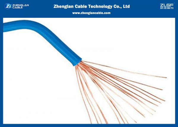 Quality RV Building Wire And Cable 450/750V BVR 1.5mm 2.5mm 4mm PVC Flexible Stranded IEC 60227 for sale