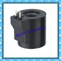 China Class B H 2 Pin Hydraulic Solenoid Coil 20.2mm inner hole 20.2mm DC24V Solenoid Valve wholesale
