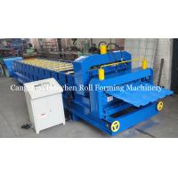 China 2 In 1 Double Roof Roll Forming Machine For Two Different Roof Profiles wholesale