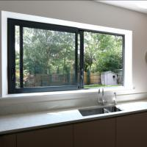 China Aluminium windows aluminium frame sliding glass window aluminium window grill design wholesale