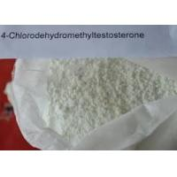 China Bulking Cycle Oral Anabolic Steroids Turinabol Powder 4 - Chlorodehydromethyltestosterone For Bodybuilding wholesale