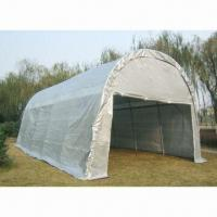 China Deluxe Dome Carport, Sized 4 x 6, 5 x 8 and 5 x 10m, Made of PE Fabric wholesale