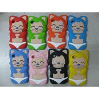 China new edition phone case ali cat silicon case for iphone4 wholesale