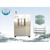 China Electric Vertical Lift Double Door Autoclave With Easy Access Loading Trolleys wholesale