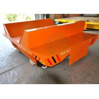 China Precise pipe industry cable drum power rail coil transfer cart with cast  wheel wholesale