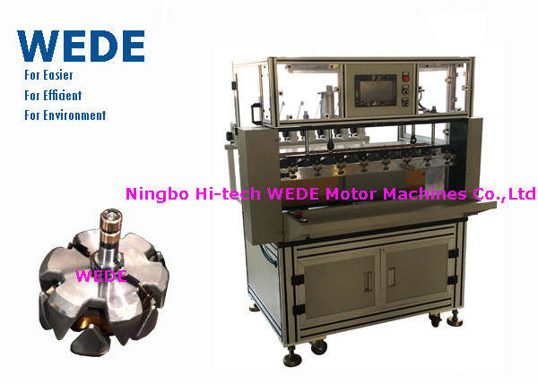 Quality 0.12 - 0.4mm Wire Coiling Machine , Adjustable Armature Coil Winding Machine  for sale