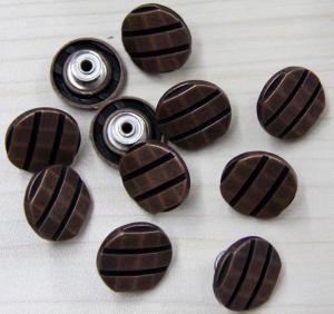 China Eco freindly Custom Clothing Buttons / Hardware Diamond Decoration on sale
